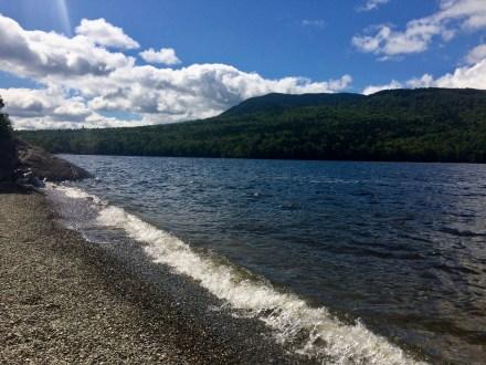 appalachian trail flagstaff lake