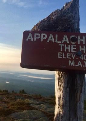 appalachian trail saddlebacks the horn