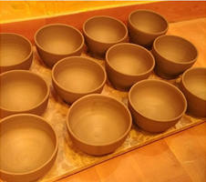 DRYING THE CERAMIC CLAY