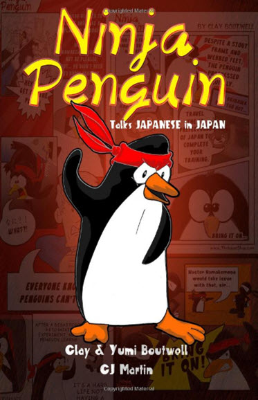 Ninja Penguin Talks Japanese in Japan