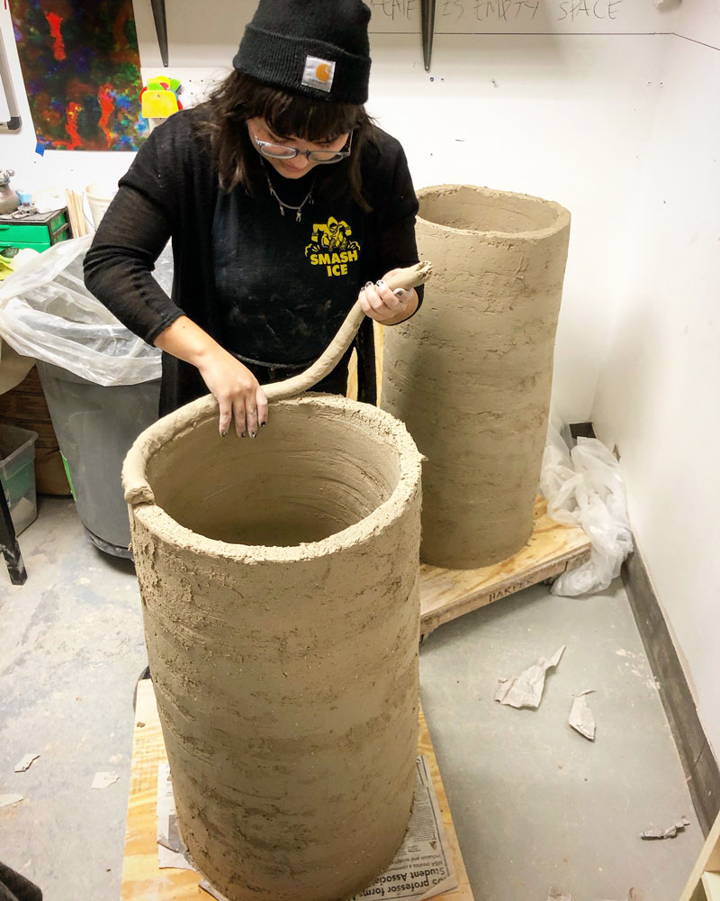 Brooklin's large vessel course clay