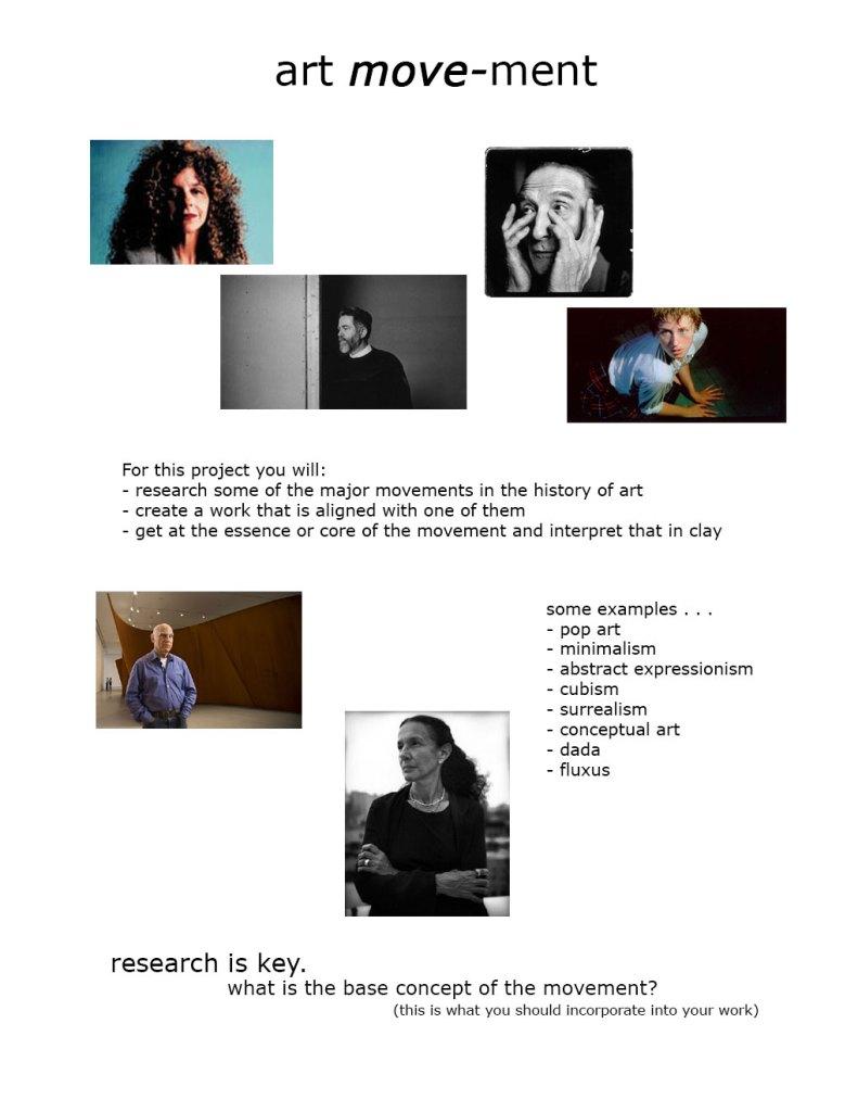 Art Movement Project