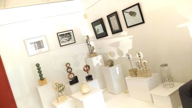 exhibition space at ClayMotion, Ballarat Victoria