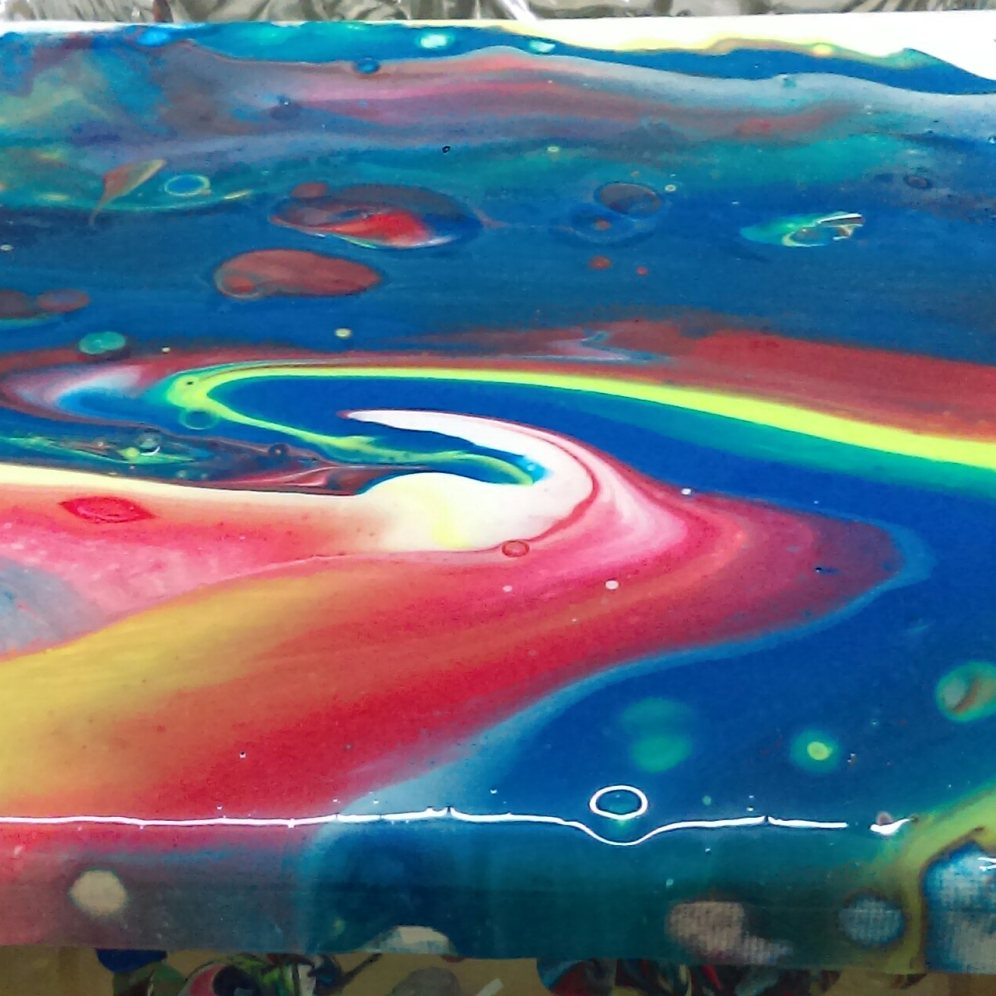 Acrylic Pouring ClayMotion Ballarat Victoria