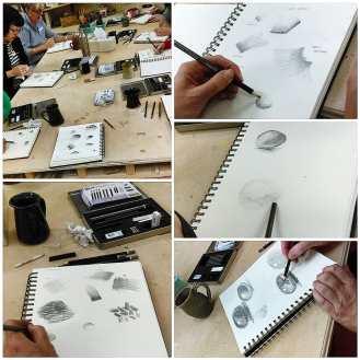 Beginners Drawing Classes at ClayMotion Ballarat Victoria