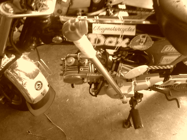 Et, pour une finition et une prise en main totales...la guidoline de vélo de course !