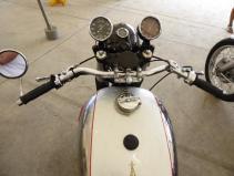 Stand Bourbon Moto Classic: du lourd! Un musée ambulant !