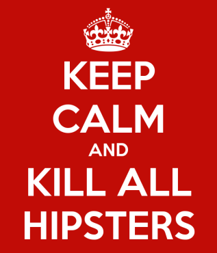 hipsters no
