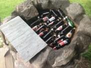Heat retaining bottles