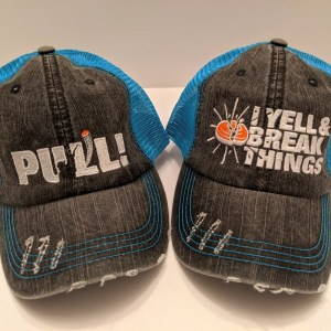 Clay Shooting Caps - Trap Skeet Sporting Clay Shooting Apparel