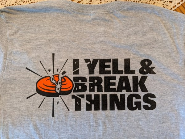 Clay Shooting Shirts - Pull I Yell & Break Things T-Shirt
