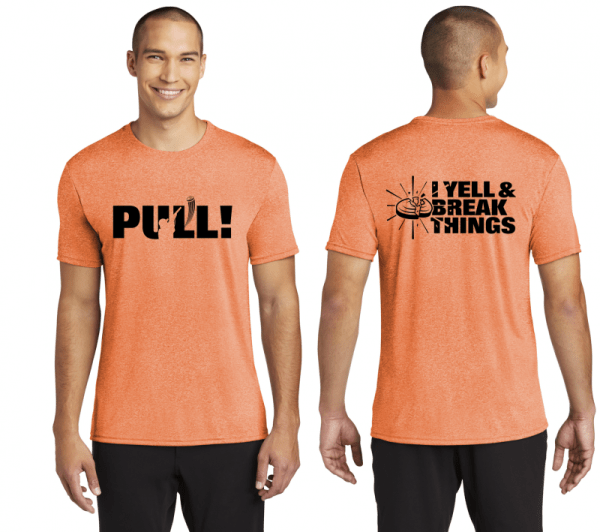 Performance T Shirts For Clay Shooting - Moisture-Wicking Trap Shooting Shirts
