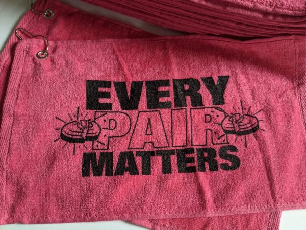 Breast Cancer Towels - EVERY PAIR MATTERS - Clay Shooting & Breast Cancer Awareness