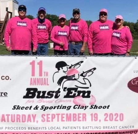 Breast Cancer Awareness Fundraising T Shirts and Hats