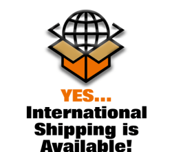 International Worldwide Shipping is Available