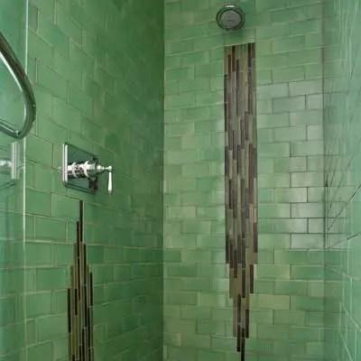 Handmade And Vintage Ceramic Tile Bathroom Gallery