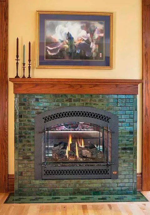 planning a tile fireplace budgeting