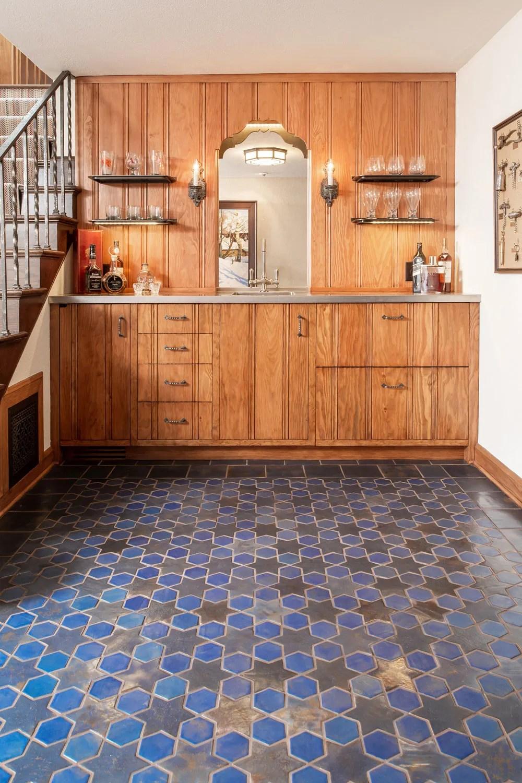 handmade ceramic field tile in 30