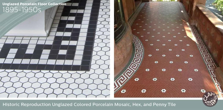 historic hexagon tile patterns