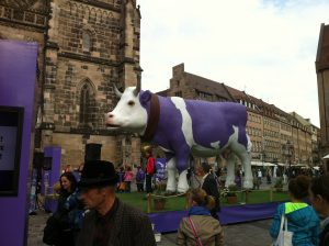 Purple cow as part of the marketing mix