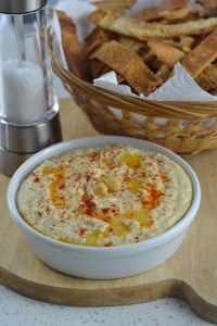 Hummus Dip & Pitta Chips