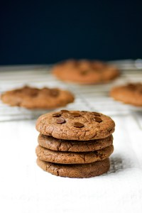 Gooey Nutella Cookies