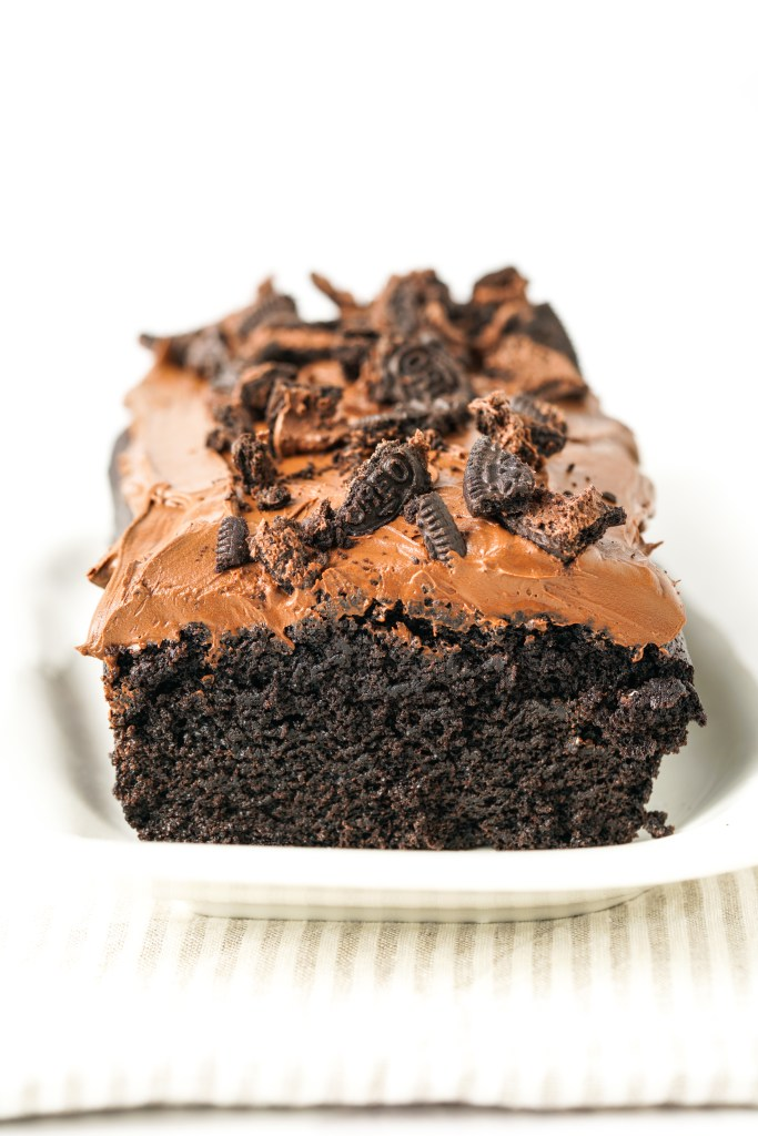 Chocolate Brownie Oreo Cake
