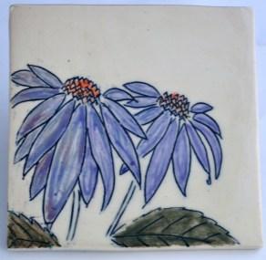 Coneflower Mishima Tile