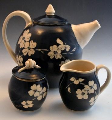 Dogwood Tea Set