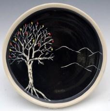 Autumn Tree Plate