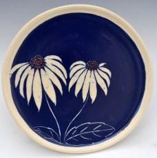 Coneflower Plate