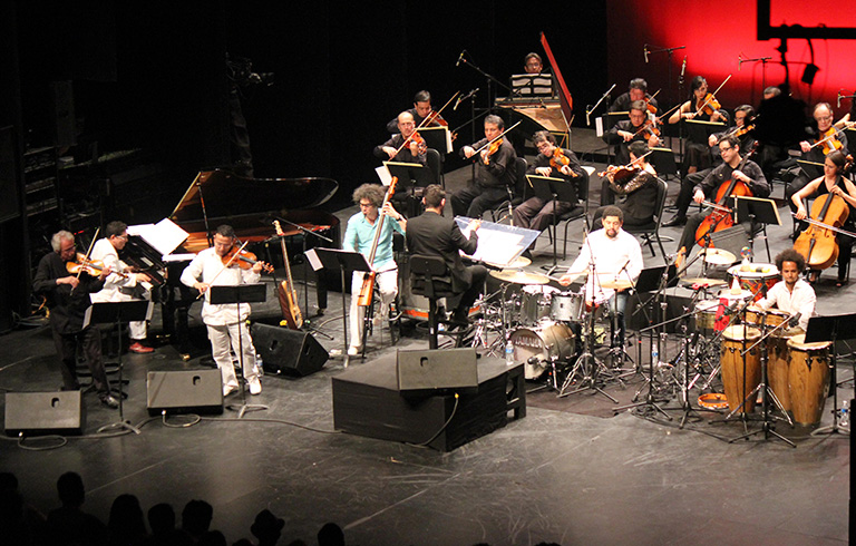 4 estaciones latin jazz
