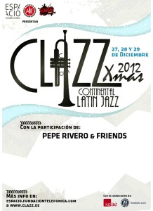 cartel clazz xmas madrid 2012