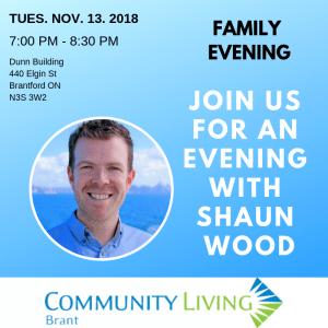 Family Night: Shaun Wood