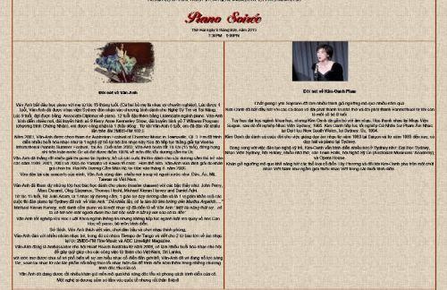 Piano Soirée với Vân Anh và Kim Oanh