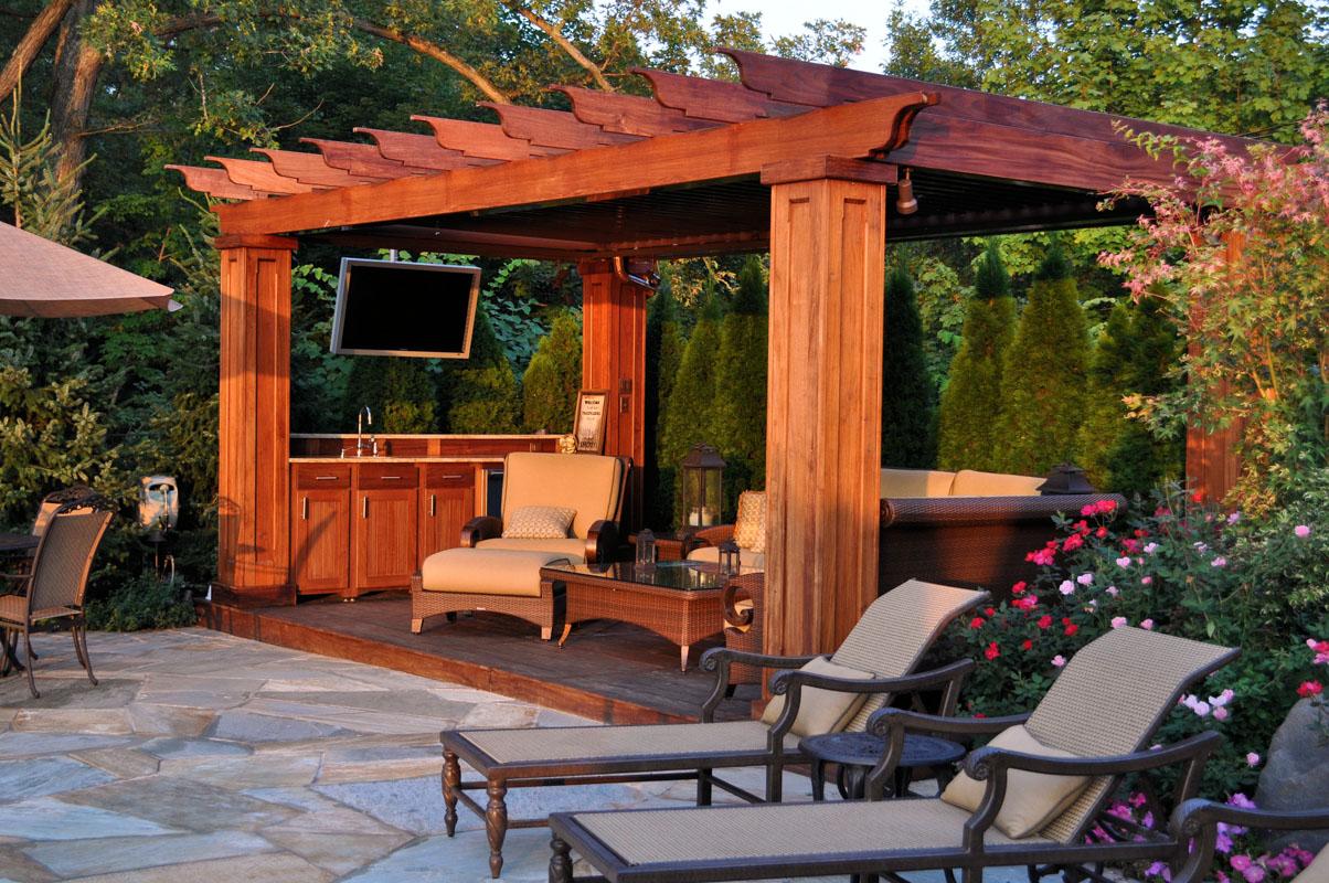 Custom Landscape Projects   CLC Landscape Design on Custom Backyard Designs id=42640