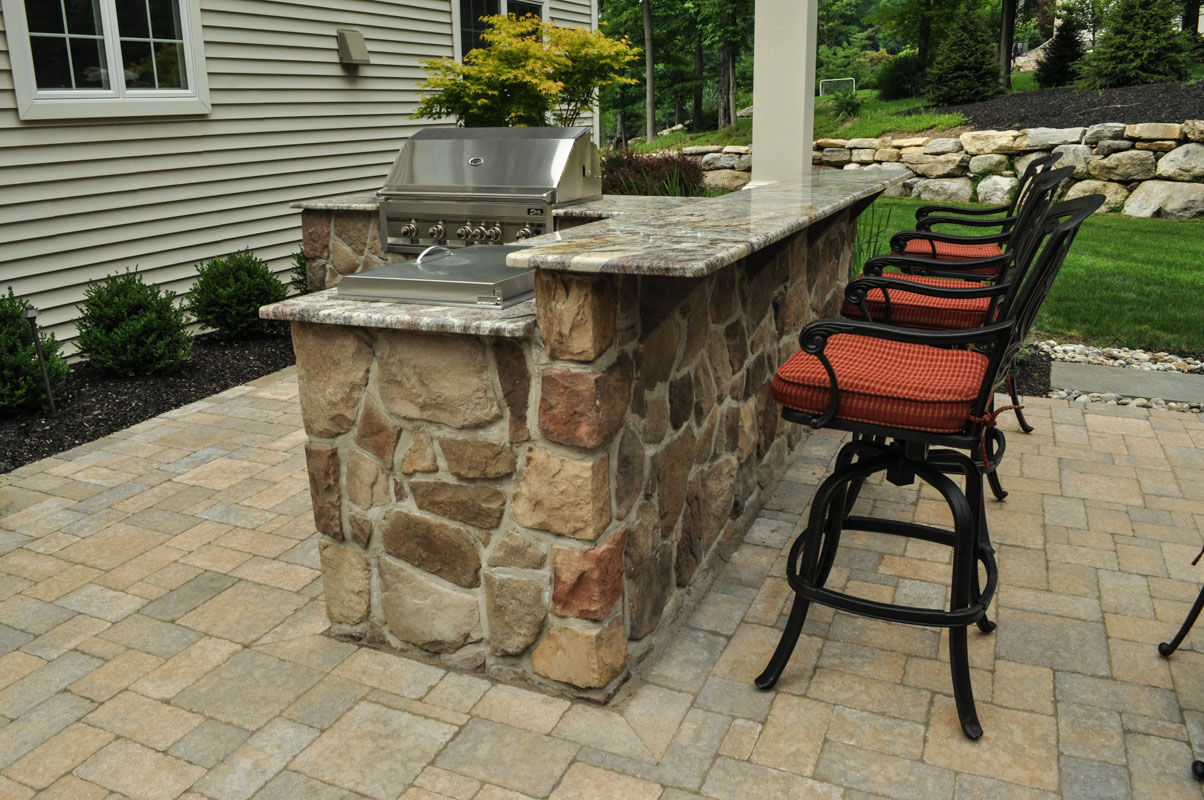 Backyard Landscape - Sparta, NJ | CLC Landscape Design on Sparta Outdoor Living id=29057