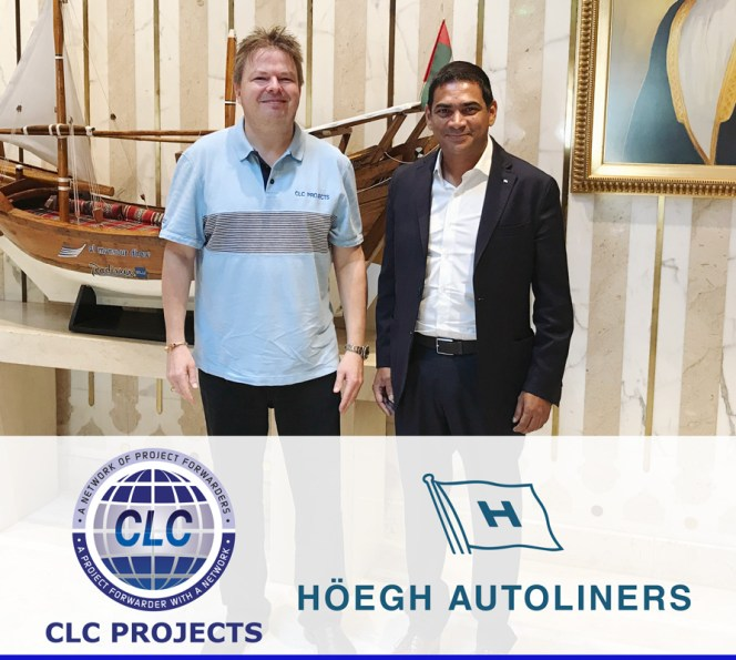 CLC Projects met with Höegh Autoliners in Dubai yesterday