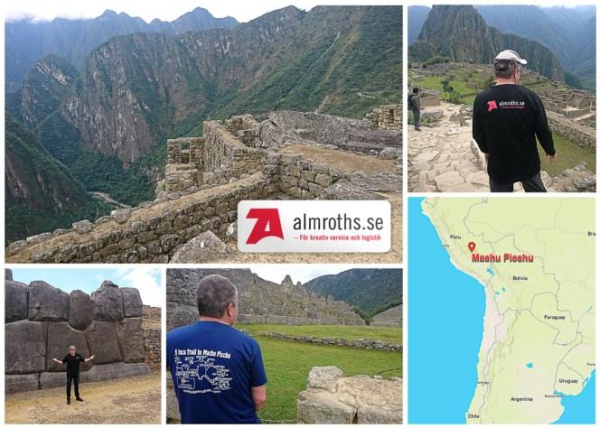 Almroths visits Machu Picchu, Peru