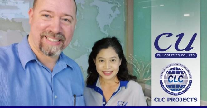 CLC Projects met with Thailand member CU Logistics