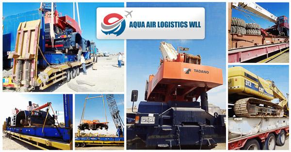 Aqua Air Logistics Qatar to Bangladesh Project