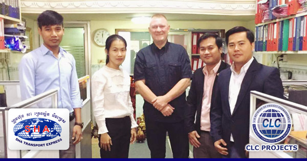 CLC Projects met with Sha Transport Express