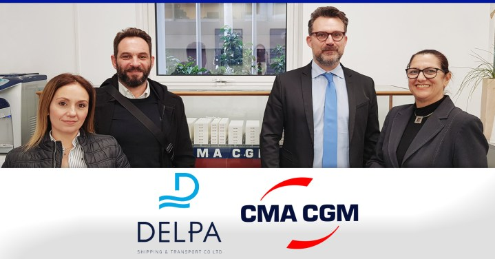 Delpa Shipping & Transport Co. Ltd. met with CMA CGM at their Piraeus office