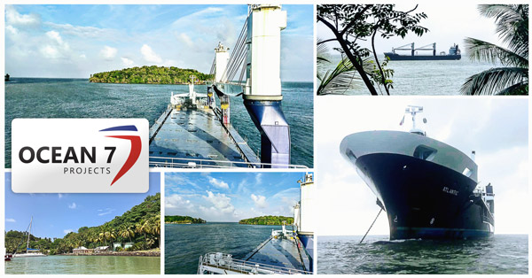 Ocean7 Projects discharing in French Guyana