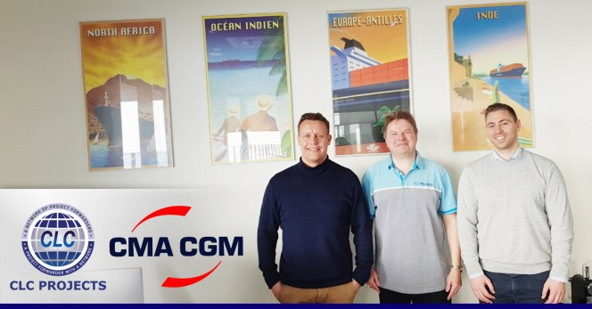 CLC Projects met with CMA CGM Denmark