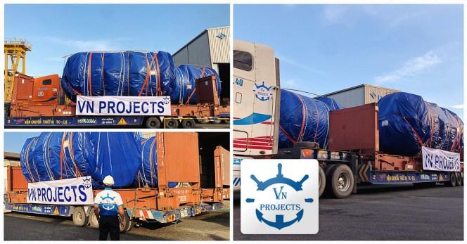VN           Projects Loaded Breakbulk Cargo