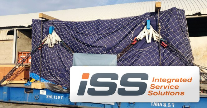 ISS GF SPA Unloaded Cargo from Ro Ro Hoegh Autoliner at Livorno Port for Delivery to the North of Italy
