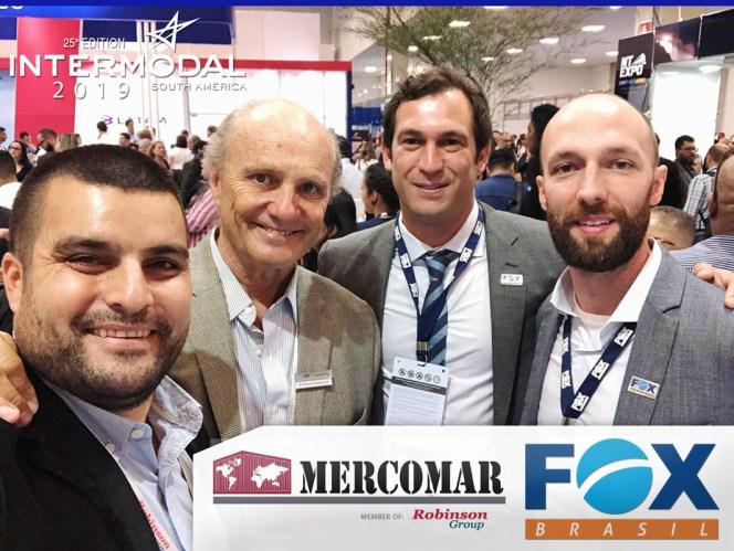 Mercomar and FOX Brasil at Intermodal 2019