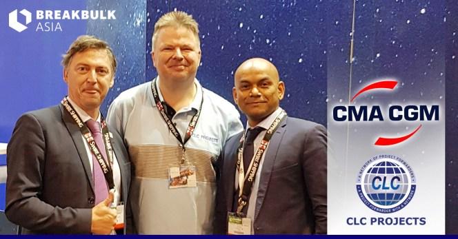Bo           meeting with CMA CGM at Breakbulk Asia in Shanghai
