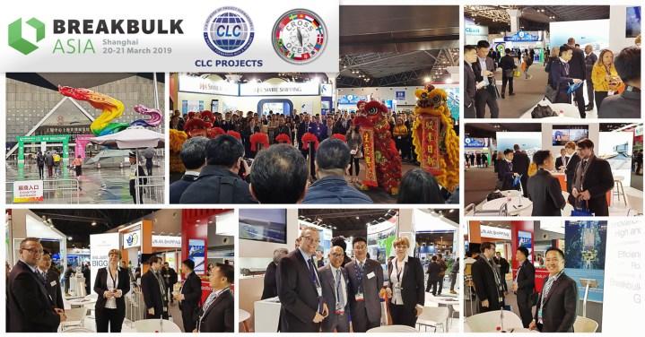 Members met up at Breakbulk Asia in Shanghai